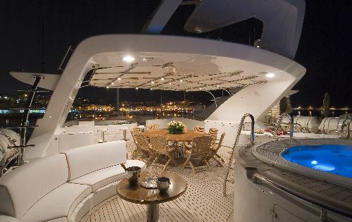 Yacht Blue Vision Benetti 43