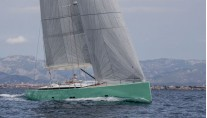 Brenta 80 DC luxury yacht COOL BREEZE under sail - Photo by J. Renedo