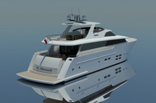 C.Boat 28 Sport Yacht - aft view