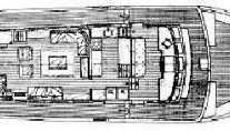 CALYPSO OF MALAHIDE -  Deck Plan