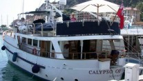 CALYPSO OF MALAHIDE -  Stern to in port