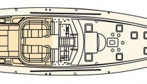 CELANDINE -  Main Deck Layout
