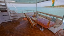 CHASING DAYLIGHT -  Aft Deck