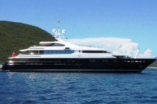 Luxury motor yacht Cloud 9