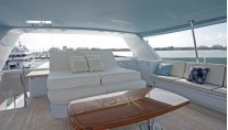CONTINENTAL DRIFTER III -  Flybridge Dining