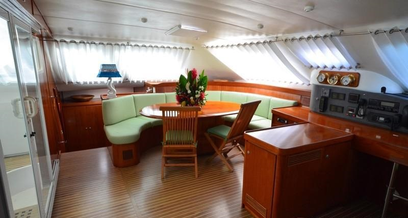 yacht crazy horse lagoon 57 charterworld luxury