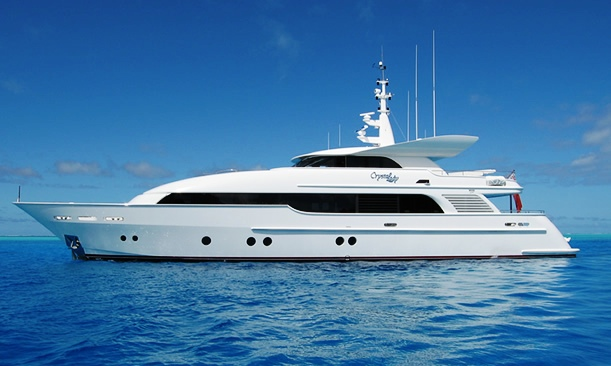 yacht crystal lady  warren yachts
