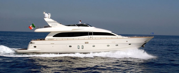 Motor Yacht Canados 76