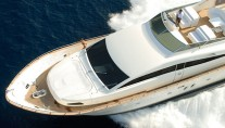 Canados 76 Yacht from above