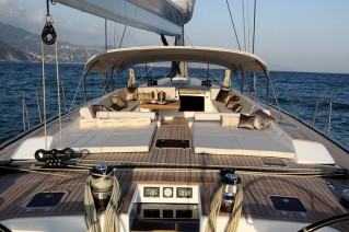Cape Arrow superyacht in 2011 - SW 100 RS - Profile