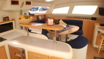 Caribbean Dream - Galley and Salon