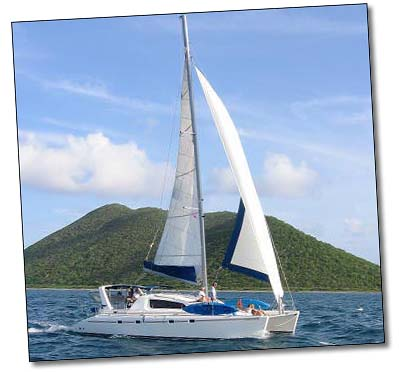 Sailing Catamaran Caribbean Dream
