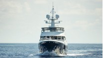 Cary Ali superyacht - front view