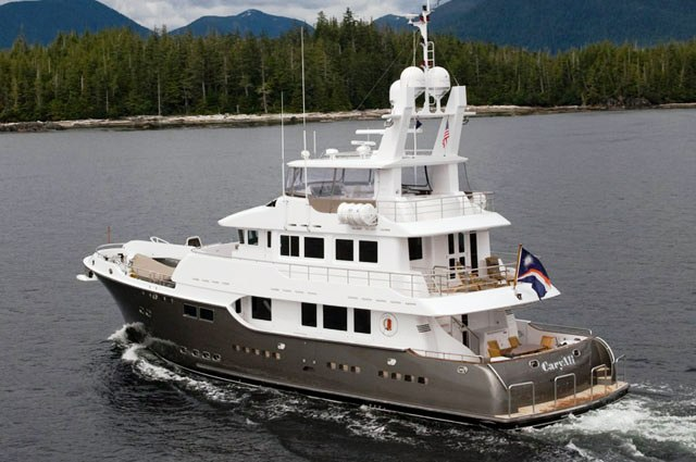 Luxury Yacht Charter Vivierae Caryali Cruising South