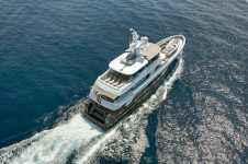 CaryAli Yacht from above