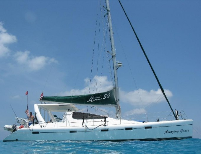 Catamaran AMAZING GRACE