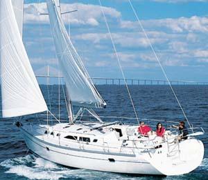 Catalina 400 sailing yacht