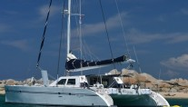 Catamaran ABYSSE - Aft View