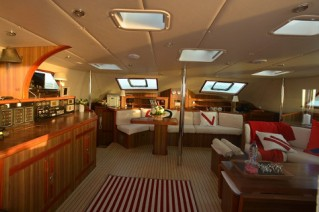 Catamaran ABYSSE - Salon