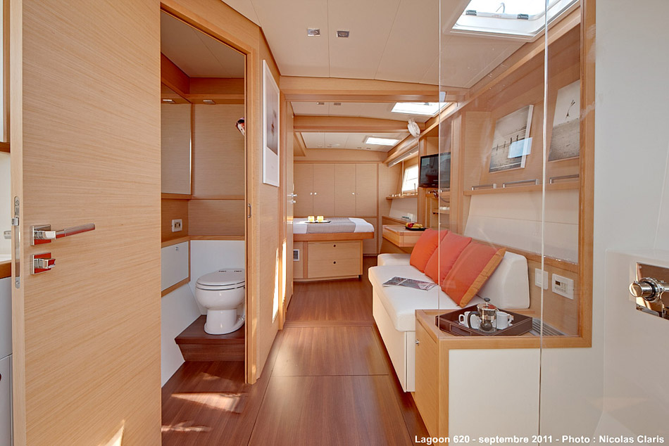 Catamaran dragon guest cabin luxury yacht browser by for By the cabin catamaran charters