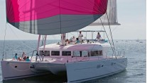 Catamaran ENIGMA -  With Spinaker