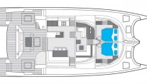 Catamaran EWHALA -  Main Deck Layout