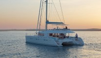 Catamaran Firefly -  At Sunset