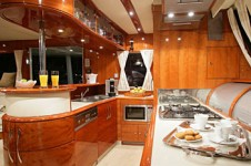 Catamaran Luna - Galley