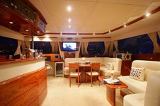Catamaran Luna - Saloon