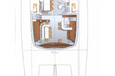Catamaran MAITAI Sunreef 74 (ex Che) - Layout 2