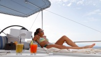 Catamaran NOVA -  Sunbathing