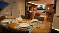 Catamaran OHANA - Aft deck alfresco dining