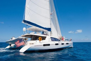 Catamaran SEA LEOPARD -  On Charter