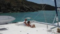 Catamaran SEA LEOPARD -  Relaxing forward