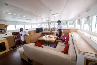 Catamaran SEA SPIRIT -  Main Salon 2