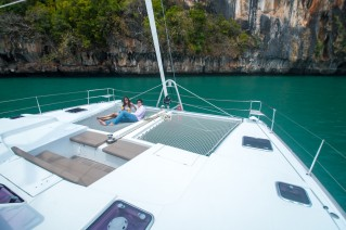 Catamaran SEA SPIRIT -  View forward