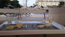Catamaran SOMETHING WONDERFUL - Al Frresco Dining