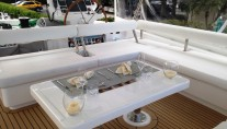 Catamaran SOMETHING WONDERFUL - Flybridge Dining