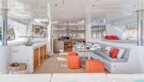 Catamaran SPLIT SECOND - Aft deck