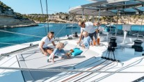 Catamaran SPLIT SECOND - Flybridge