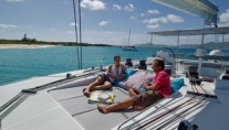 Catamaran VACOA - Trampolines forward