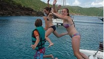 Catamaran VICTORIA -  Jumping for Joy