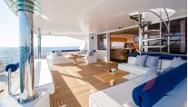 Catamaran WINDQUEST - Aft Deck
