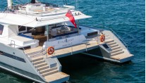 Catamaran WINDQUEST - Aft View