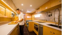 Catamaran WINDQUEST - Galley