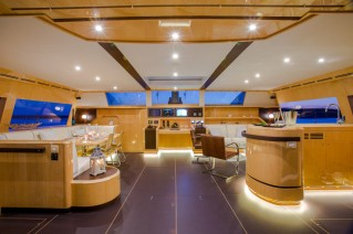 Catamaran WINDQUEST - Main Salon