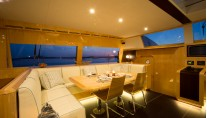 Catamaran WINDQUEST - Salon Dining