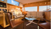 Catamaran WINDQUEST - Salon Seating