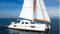 Catana 50  sets sail