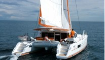 Catana 50 aft transom view